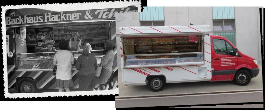 Wir haben einen Food-Truck. Schon seit 1977.