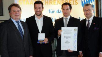 Staatsehrenpreis für das bayerische Bäckerhandwerk 2012