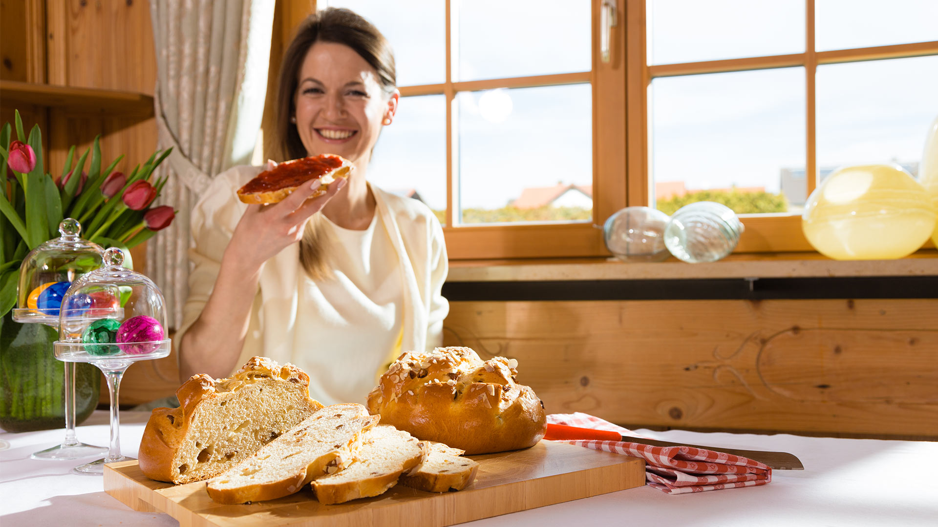 Herrlich locker: Osterfladen