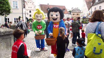Bürgerfest in Vohburg.