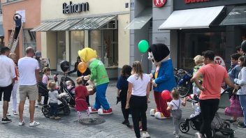 Kindertag in Ingolstadt.