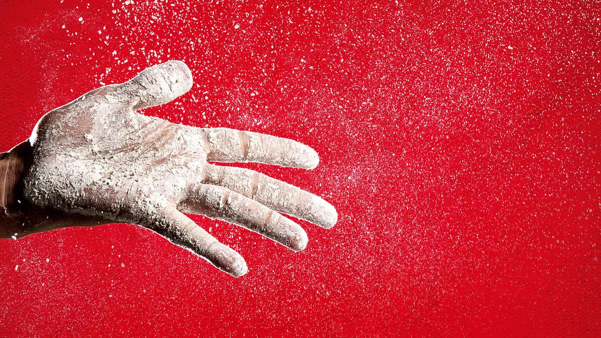 Hand drauf: