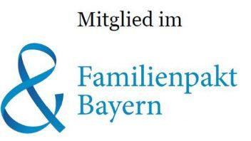 Mitglied im Familienpakt Bayern.
